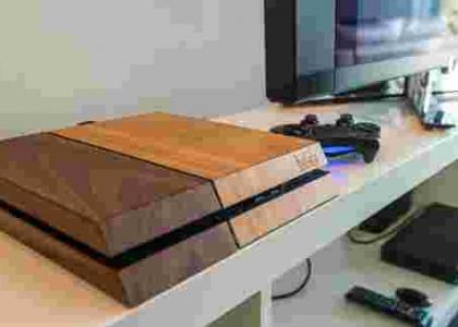 Деревянная PS4 — моддинг консоли для ценителей стиля